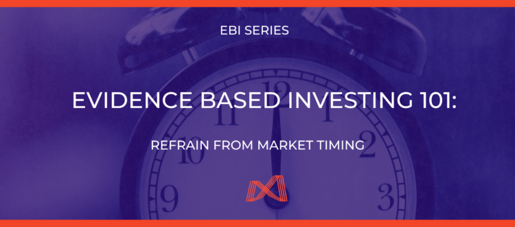 Evidence Based Investing Market Timing